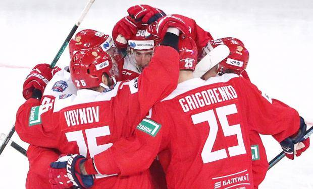 Дубль Слепышева принес сборной России победу над командой Финляндии