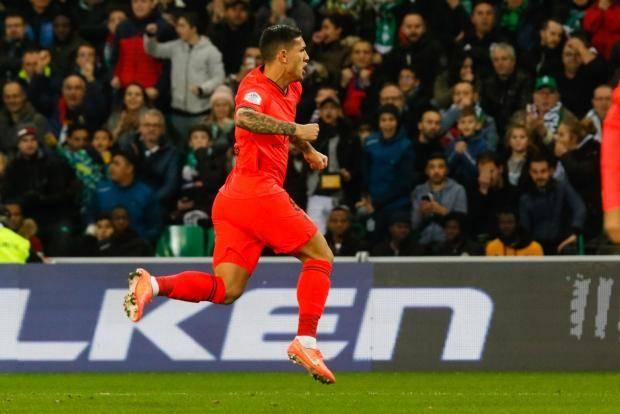 «ПСЖ» в гостях разгромил «Сент-Этьен», Паредес забил первый гол за парижан