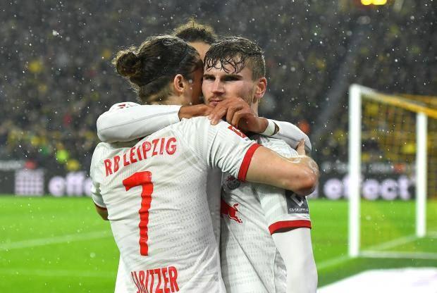 Дубль Вернера спас «Лейпциг» от поражения в матче с дортмундской «Боруссией»