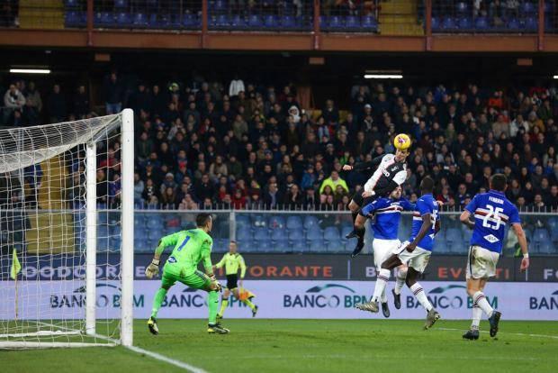 «Ювентус» выиграл у «Сампдории» в Генуе