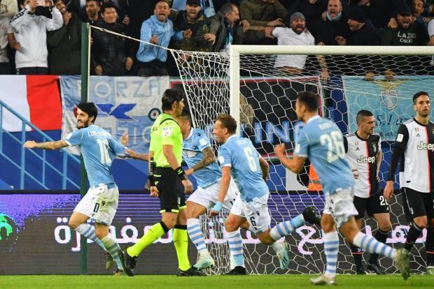 «Лацио» выиграл Суперкубок Италии, победив «Ювентус»