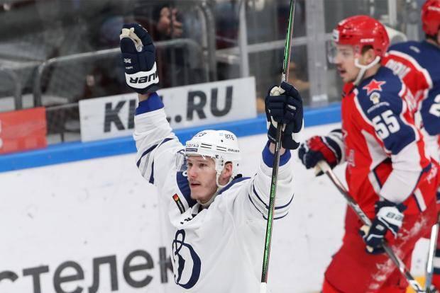 Крикунов эффектно отпраздновал юбилей. «Динамо» прервало победную серию ЦСКА