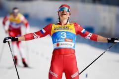 Бронза в спринте вывела Непряеву в лидеры «Тур де Ски». На два дня