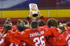 Девушки дня. Сборная России по хоккею – они выиграли бронзу молодежного чемпионата мира