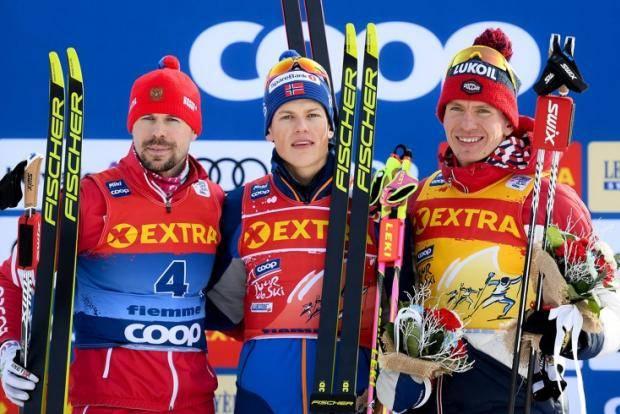 Клэбо отнял у Большунова лидерство в «Тур де Ски». Но фаворит – Устюгов