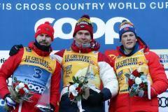 Двое на вершине. Победный дубль Большунова и Устюгова на «Тур де Ски»