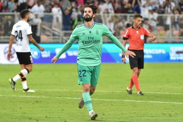 «Летучие мыши» не ловят мышей. «Реал» победил «Валенсию» в полуфинале Суперкубка Испании