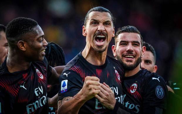 Первый гол Ибрагимовича после возвращения помог «Милану» обыграть «Кальяри»