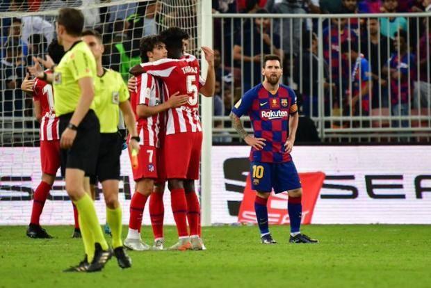 «Барса» накрылась «матрасом». «Атлетико» вырвал путевку в финал Суперкубка Испании