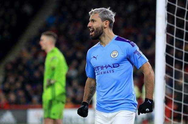 Гол Агуэро принес «Манчестер Сити» победу над «Шеффилд Юнайтед»