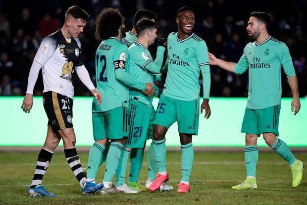 «Реал», «Валенсия» и «Реал Сосьедад» – в 1/8 финала Кубка Испании