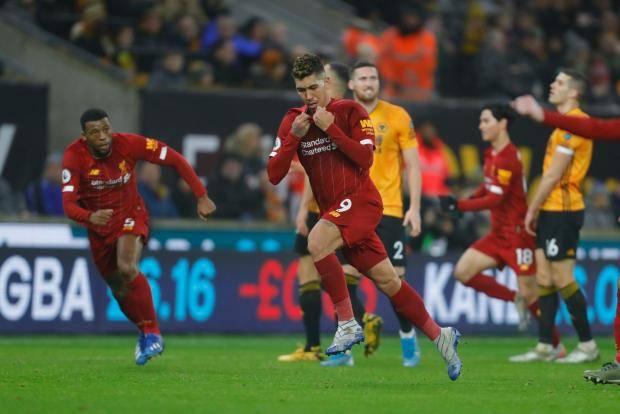 «Ливерпуль» в концовке встречи вырвал победу у «Вулверхэмптона»