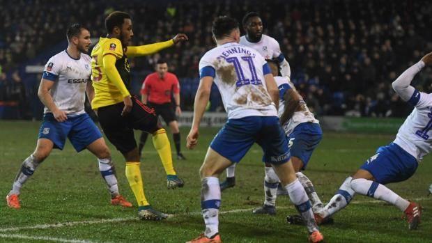 «Уотфорд» проиграл «Транмер Роверс» в 1/32 финала Кубка Англии