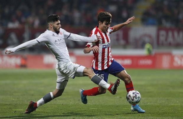 «Атлетико» проиграл клубу третьего дивизиона и вылетел из розыгрыша Кубка Испании