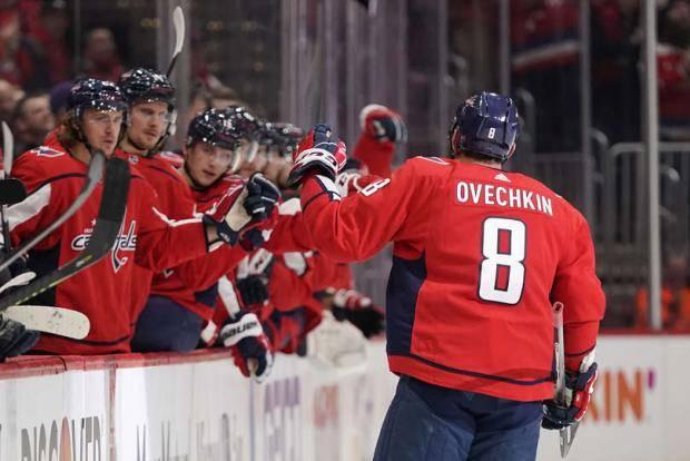 Овечкин вышел на девятое место по голам в истории НХЛ