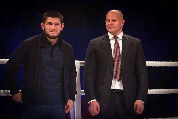 Хабиб Нурмагомедов: Нас с Федором сравнивать нельзя. Я бы поставил его на первое место