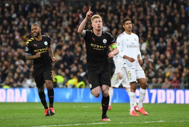 Де Брюйне за пять минут поставил «Реал» на колени. «Ман Сити» выиграл в Мадриде (видео)