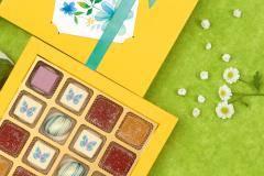 Все краски весны и лета – в букетах на фигурном шоколаде от фабрики «Конфаэль»