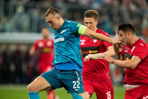 Дзюба вернулся, игра в атаке – нет. «Зенит» не смог одолеть «Уфу»