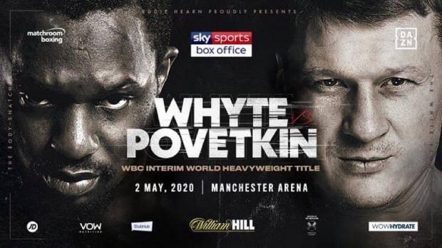 Поветкини Уайт проведут бой 2 мая в Манчестере