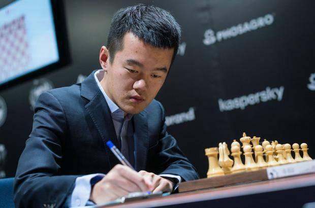 Китайский гроссмейстер встает с колен
