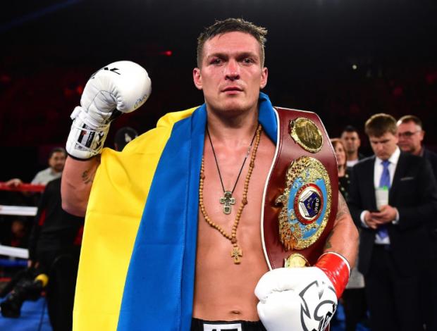 Украинский боксер Усик принял вызов борца Грицая