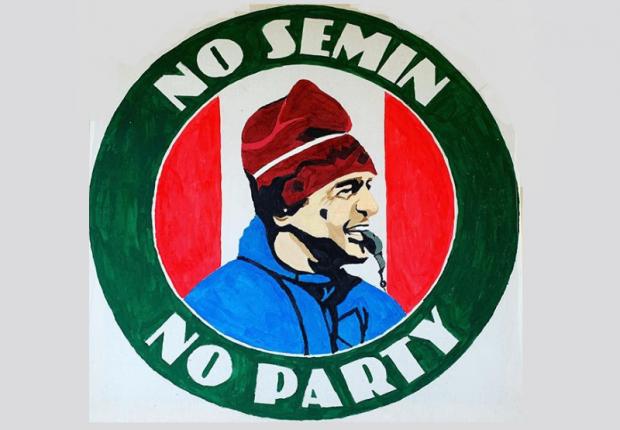 Бог шельму метит. No Semin, No Party