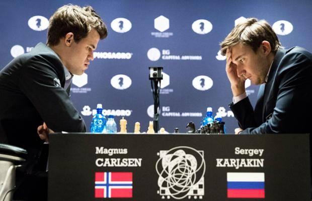 Карякин и Карлсен: снова вместе – и снова вровень