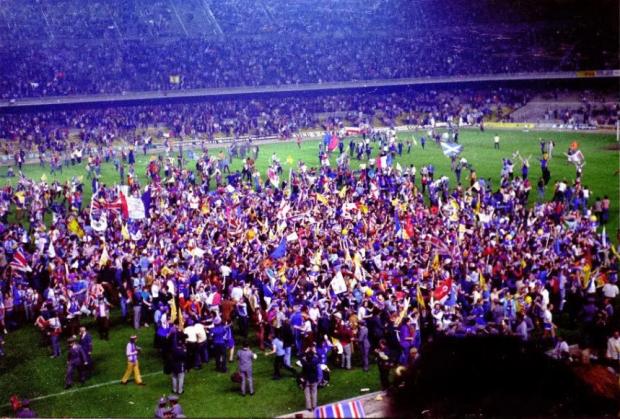 «На поле выбежали толпы пьяных шотландцев». Как «Динамо» проиграло первый для СССР финал еврокубка