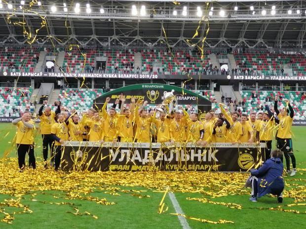 БАТЭ обыграл «Динамо-Брест» в финале Кубка Белоруссии, забив на исходе дополнительного времени