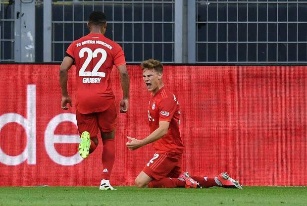 «Бавария» в Дортмунде обыграла «Боруссию», увеличив преимущество в таблице до семи очков (видео)