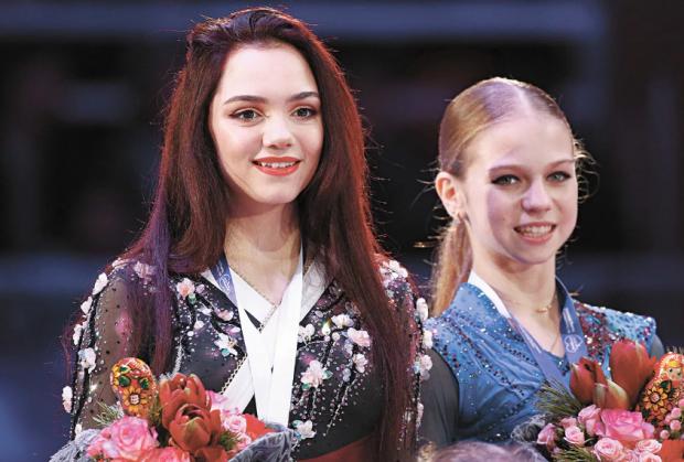 Александра Трусова: С Медведевой не созваниваемся