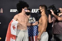 Собрались в Лас-Вегасе грузин, узбек и казахстанка… В эти выходные пройдет турнир UFC