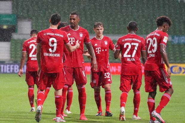 «Бавария» 30-й раз в истории и восьмой подряд выиграла чемпионат Германии, обыграв «Вердер»