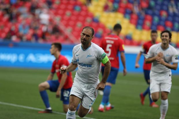 Дубль Малкома помог «Зениту» разгромить ЦСКА в Москве