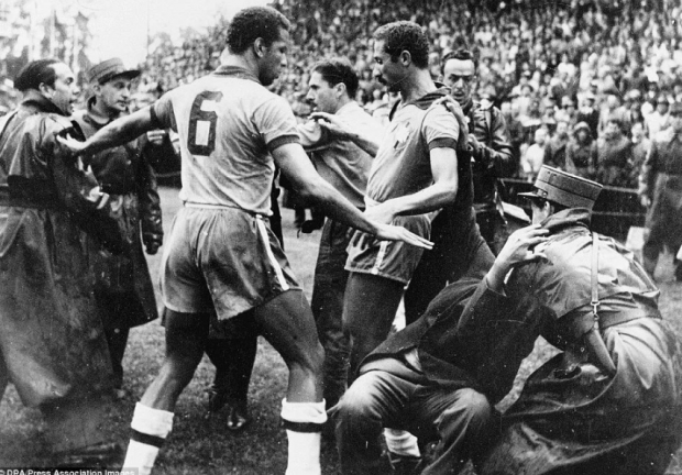 И тогда Мауриньо врезал сопернику кулаком в лицо… Кто спровоцировал «Бернское побоище»
