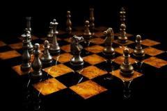 Черные начинают и проигрывают. Станут ли король с ферзем «Его величествами» №1 и №2?