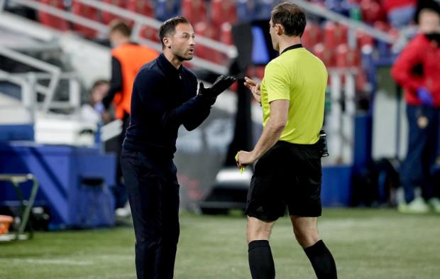 «Когда тренеры не жмут друг другу руку – это нормально». Тедеско – после поражения от ЦСКА