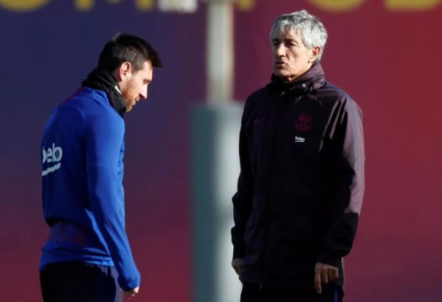 Гончаренко остался, а вот Сетьена могут уволить. Судьба главного тренера «Барселоны» решится сегодня