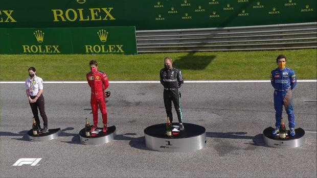Хэмилтон лишил себя подиума, Квят сошел из-за взрыва покрышки. Итоги Гран-при Австрии