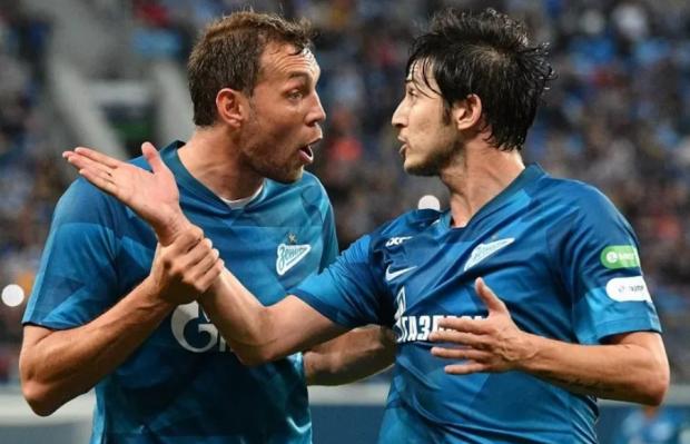 Четвертый раз в истории бомбардирскую гонку чемпионата России выиграли два футболиста