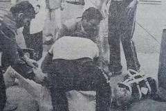 Рапира немца пробила маску нашего фехтовальщика и вонзилась ему в глаз. Вспоминаем трагедию на ЧМ-82