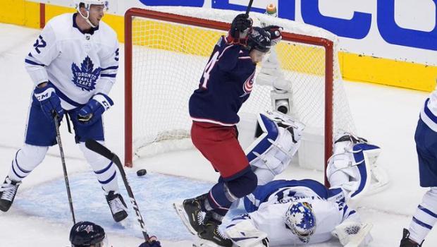 Торторелла «звонит Элвису», и «Коламбус» совершает камбек. Обзор НХЛ (видео)