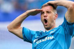 У «Зенита» и Дзюбы – первый требл, у Николича – первое поражение в России (видео)