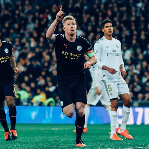 «Манчестер Сити» примет «Реал» в ответном матче 1/8 финала Лиги чемпионов