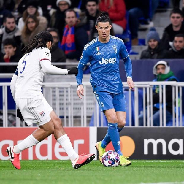 «Ювентус» на своем поле сыграет с «Лионом» в ответном матче 1/8 финала Лиги чемпионов