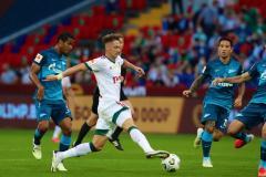 «Зенит» обыграл «Локомотив» и в пятый раз выиграл Суперкубок России
