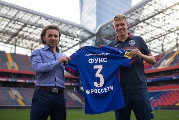 Фукс подписал контракт с ЦСКА