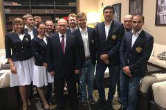Владимир Путин поздравил сборную России с победой на онлайн-олимпиаде ФИДЕ