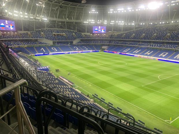 Пустое «Динамо» для России и Сербии. За полчаса до матча